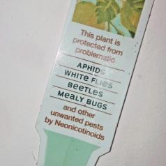 neonicotinoid label